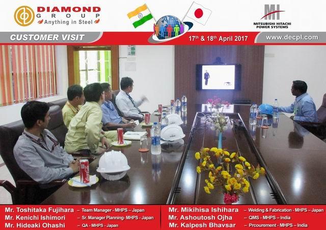 Diamond Group - News / Customer Visits - Mitsubishi ...
