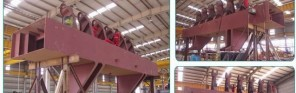 Metso Reliance Maihar - Side Beam - Under Assembly Template