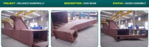 Metso Reliance Raibereilly - Side Beam Template